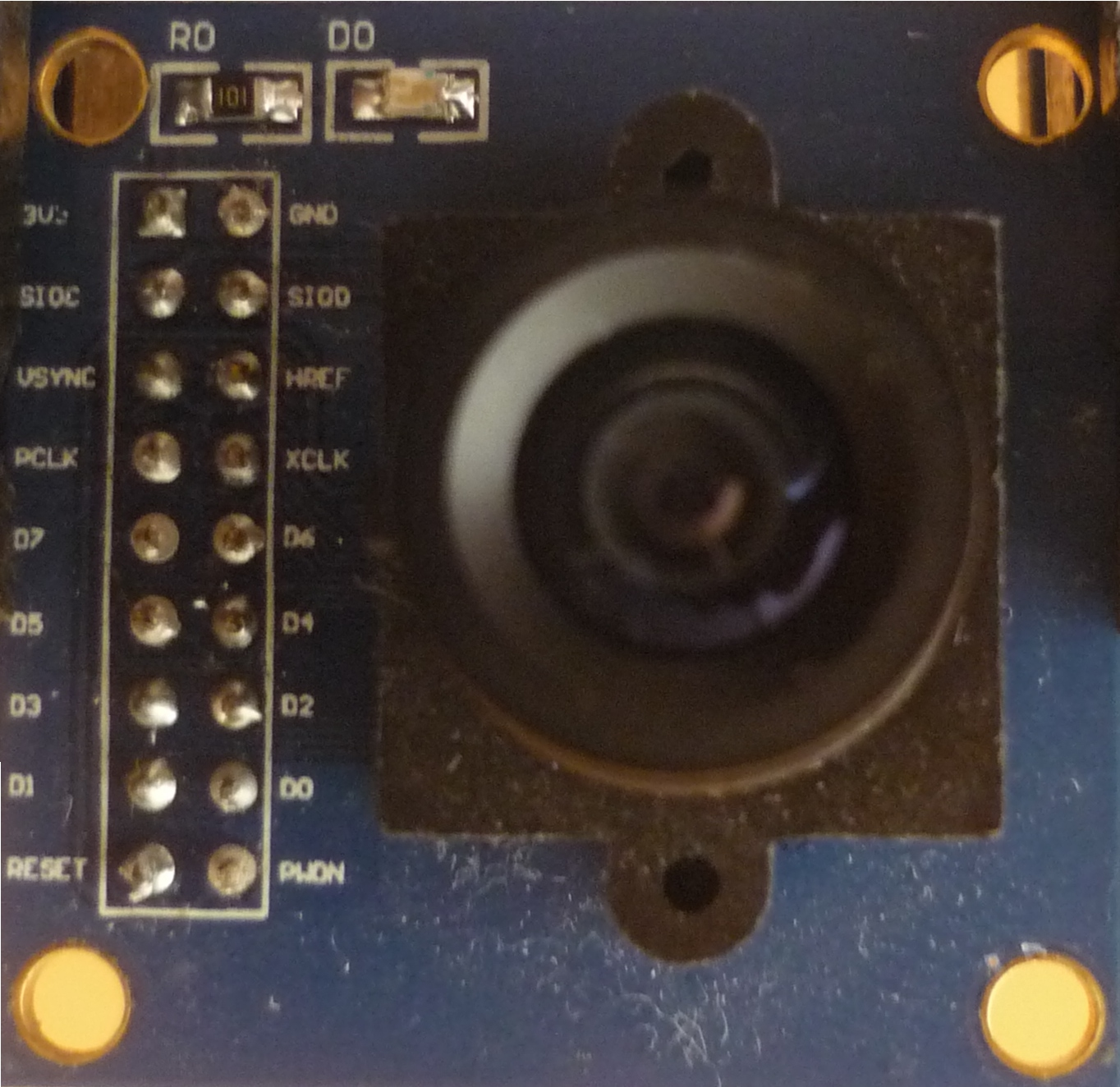 Embedded Programmer  Hacking the OV7670 camera module