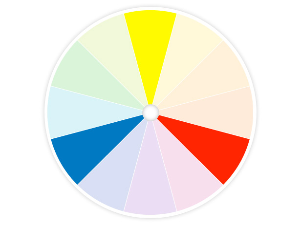 Dionne designs commit to color if you dare - Show color wheel ...