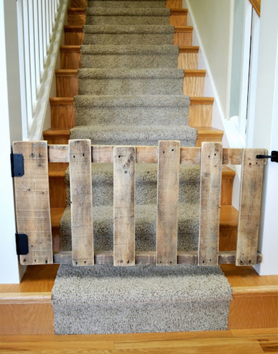 Muitas vezes A casa eh sua - Decoração sem pesar o bolso: 9 projetos com pallets XQ29