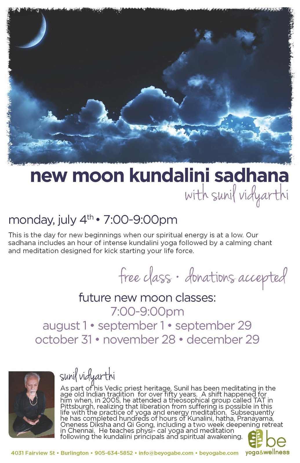 New Moon Sadhana