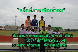 ประมวลภาพการแข่งขันกีฬานักเรียนจังหวัดสุรินทร์ ปี2554