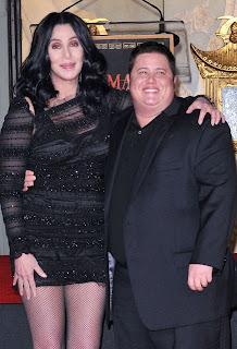 Cher and Chaz Bono