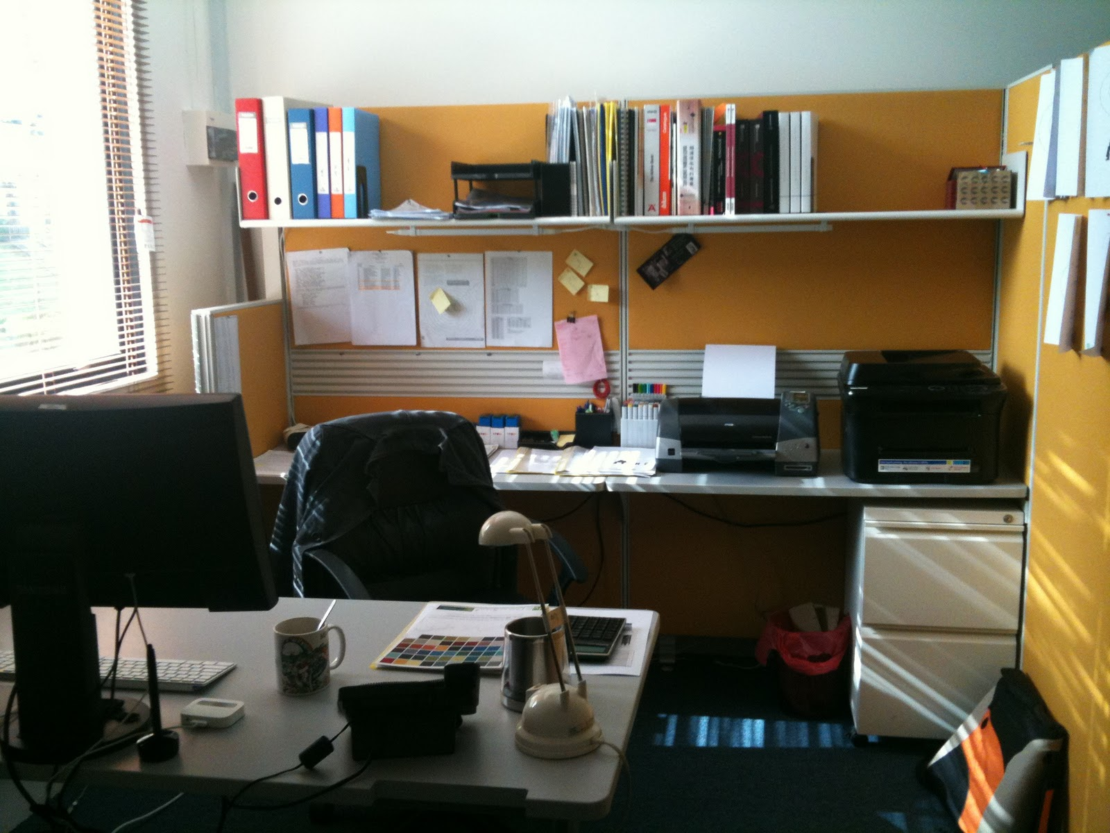 my office desk. *its no joke to shift the entire workstation by myself and its a full day process that day. my office desk w
