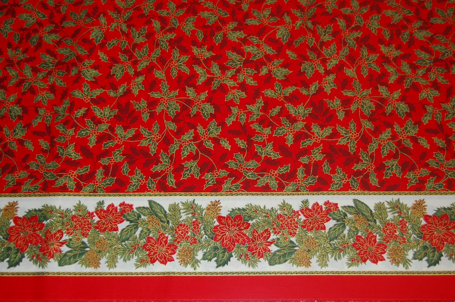el mantel de navidad