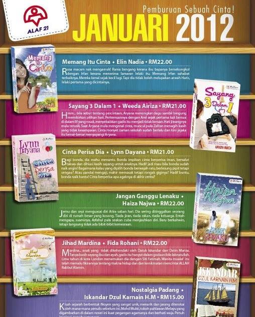 TRAVELOG USAHAWAN MUSLIM: Novel terbaru Alaf 21 Januari 2012 - Memang ...
