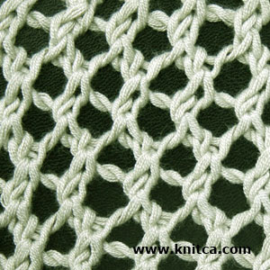 Knitting Stitches Lace Simple : knitca: 5 beautiful lace stitches for summer knits