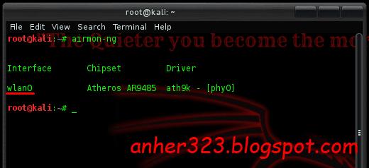 Memutus Koneksi orang lain dengan mdk3 di Kali Linux