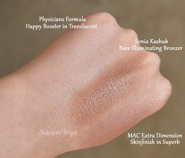 Physicians Formula Happy Booster Translucent Highlighter Swatch