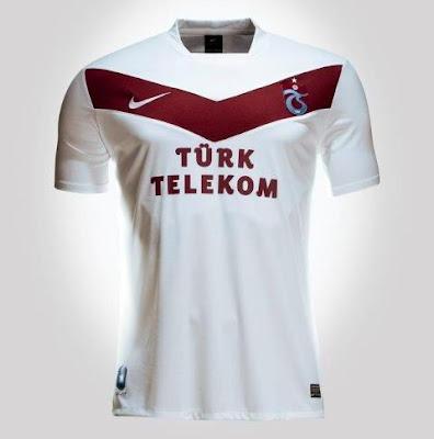 2012 2013 sezonu trabzonspor beyaz forma