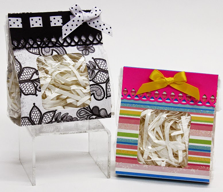 Gift Bag with Window Die Cut