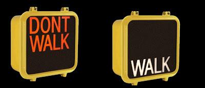 walk don't walk signs