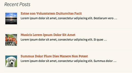 Hiển thị bài viết mới nhất trong wordpress như thế nào ?