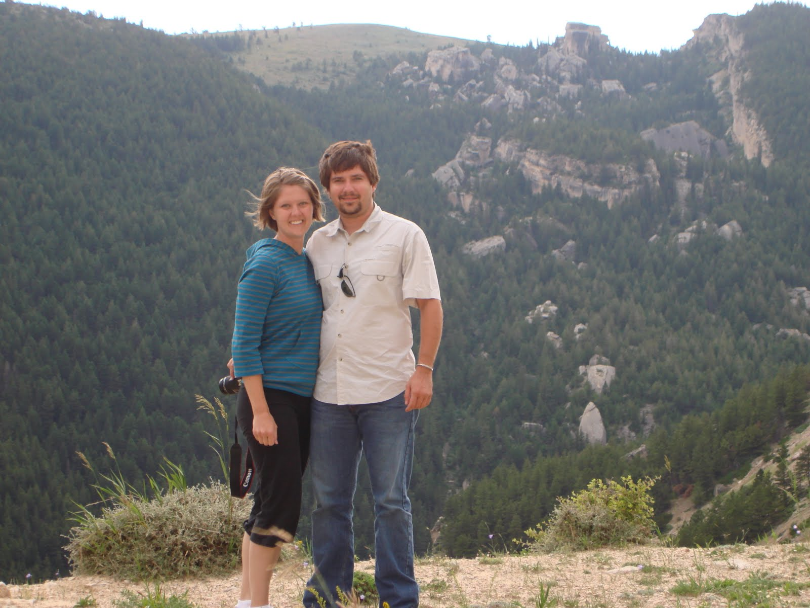 Trish and Scott, Wyoming