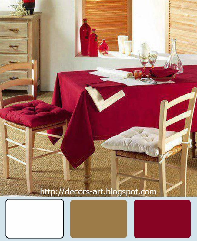 Dining Room Coordinating Color