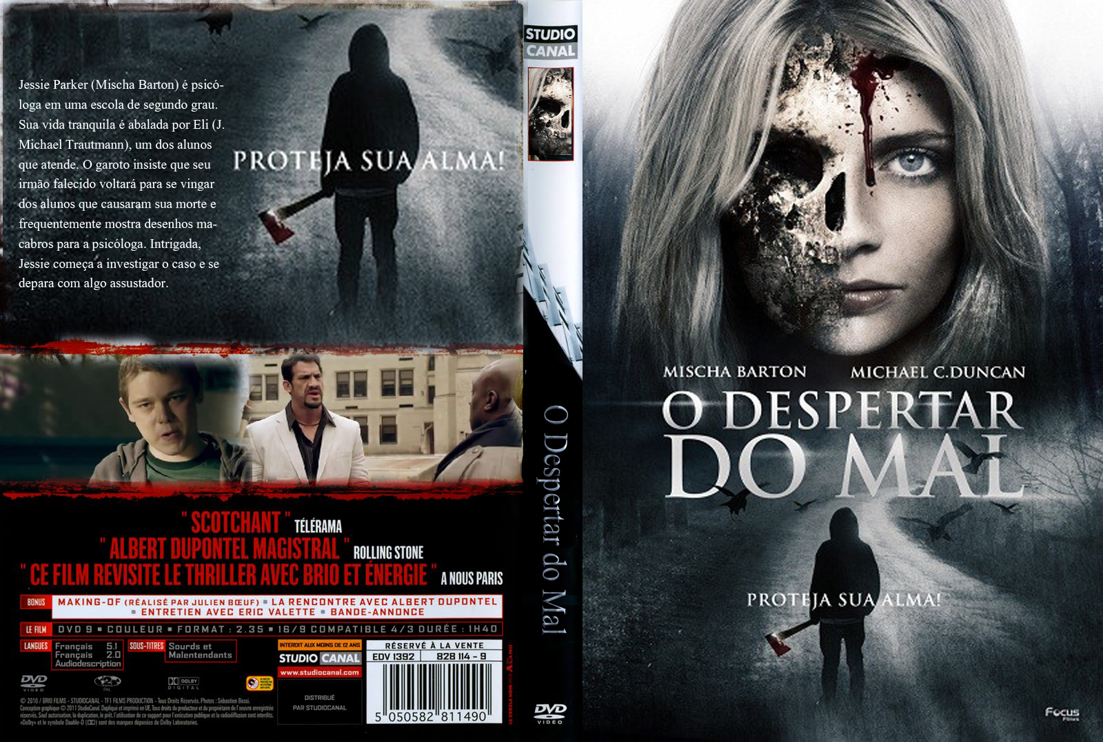 Filme O Despertar Do Mal DVD Capa