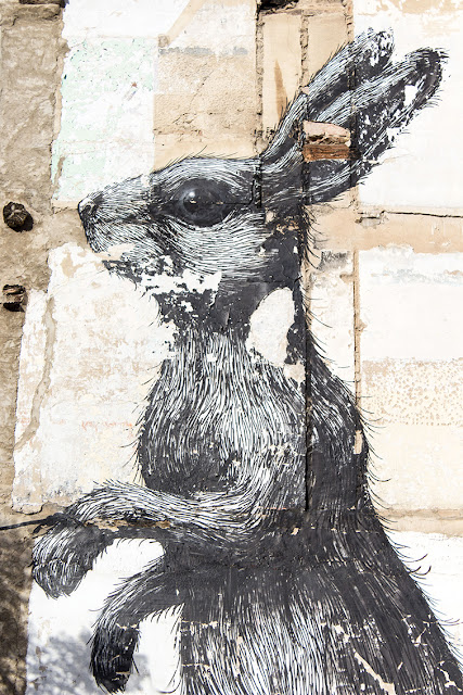 Zaragoza, arte urbano, Roa