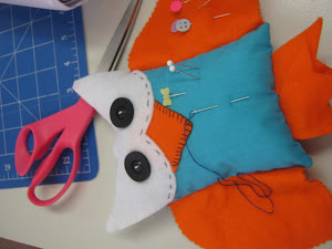 Hoot Pincushion