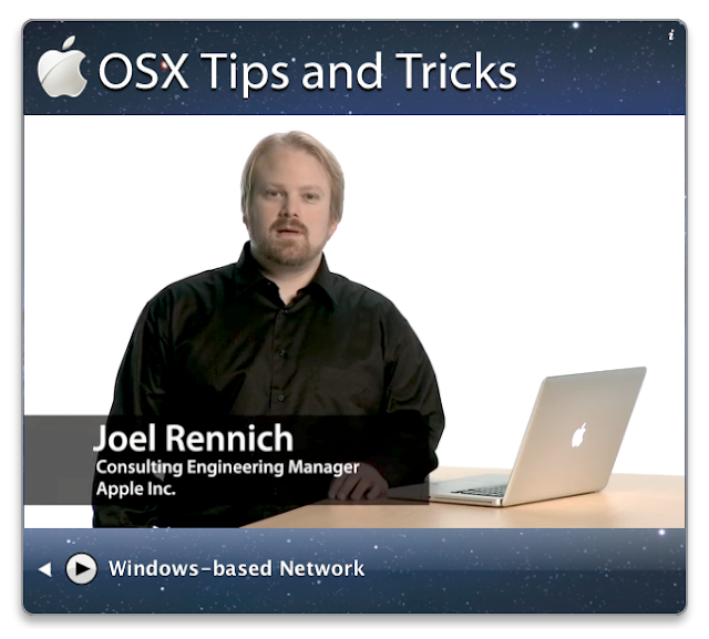 Mac OS X Tips and Tricks Videos