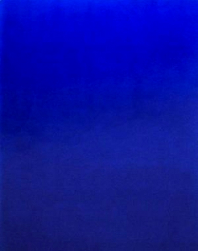chefs d oeuvre ikb 3 monochrome bleu. Black Bedroom Furniture Sets. Home Design Ideas