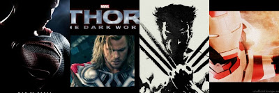 Man of Steel, Thor: The Dark World, The Wolverine, Iron Man 3
