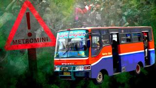 Terkait kasus yang melibatkan metromini hampir semua kecelakaan terjadi karena pengemudi ugal ugalan dan kondisi armada yang tidak layak