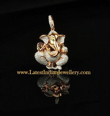 Diamond Ganesh Pendant