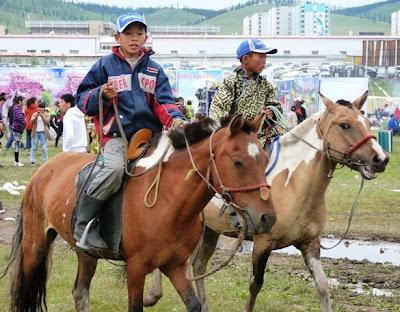 Монголия. Праздник Надом
