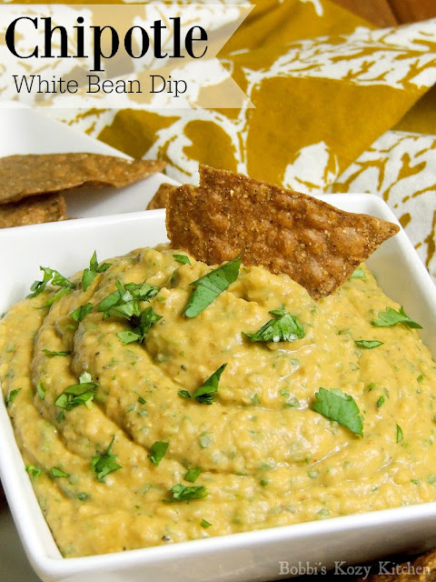 Chipotle White Bean Dip from www.bobbiskozykitchen.com