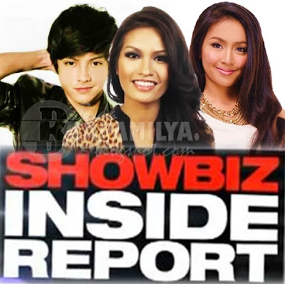 Janine Tugonon, Kathryn bernardo and Daniel Padilla on Showbiz Inside Report (Dec 22)