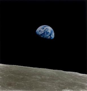 Ceci n'est pas la Terre Mission Apollo-Saturn 8 (W. A. Anders, 1968)