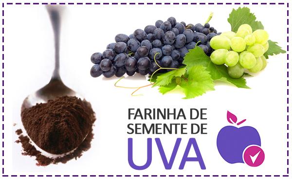 Farinha de Semente de Uva Emagrece?
