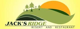 Jack's Ridge Resort and Restaurant Job Openings!