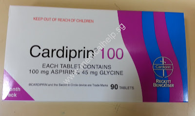 Aspirin 100mg + glycine 45mg tablet