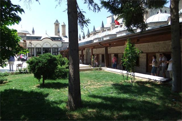 Aposentos derviche - Museo de Mevlâna (Konya)