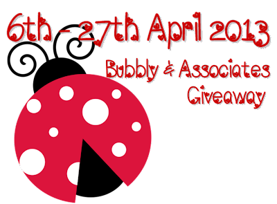 Promote : Bubbly & Associates Giveaway!!!