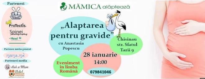 Workshop pentru gravide în limba română