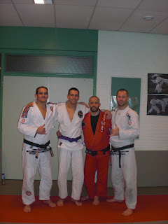 new purple belt @ our bjj school in den haag