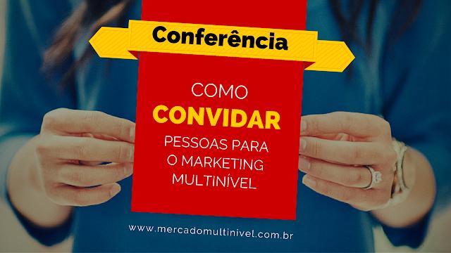 Modelo de convite por email para a conferência online - LISTA QUENTE