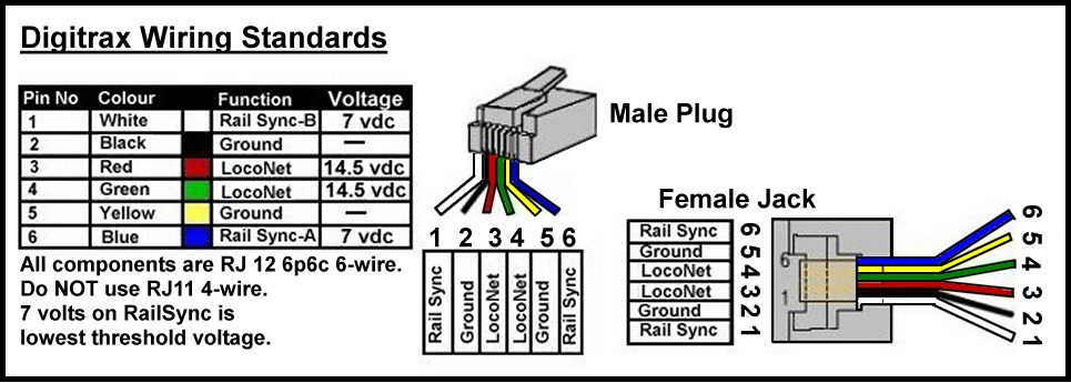 rj12 wiring standard  rj12  free engine image for user