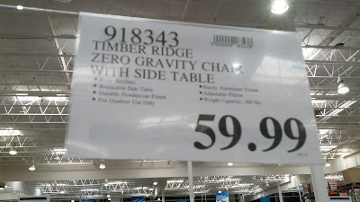 The Zero Gravity Lounger for sale now at Costco