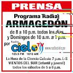 Escúchenos de lunes a sábados de 8:00 pm a 10:00 pm y domingos de 10:00 am a 1:00 pm..