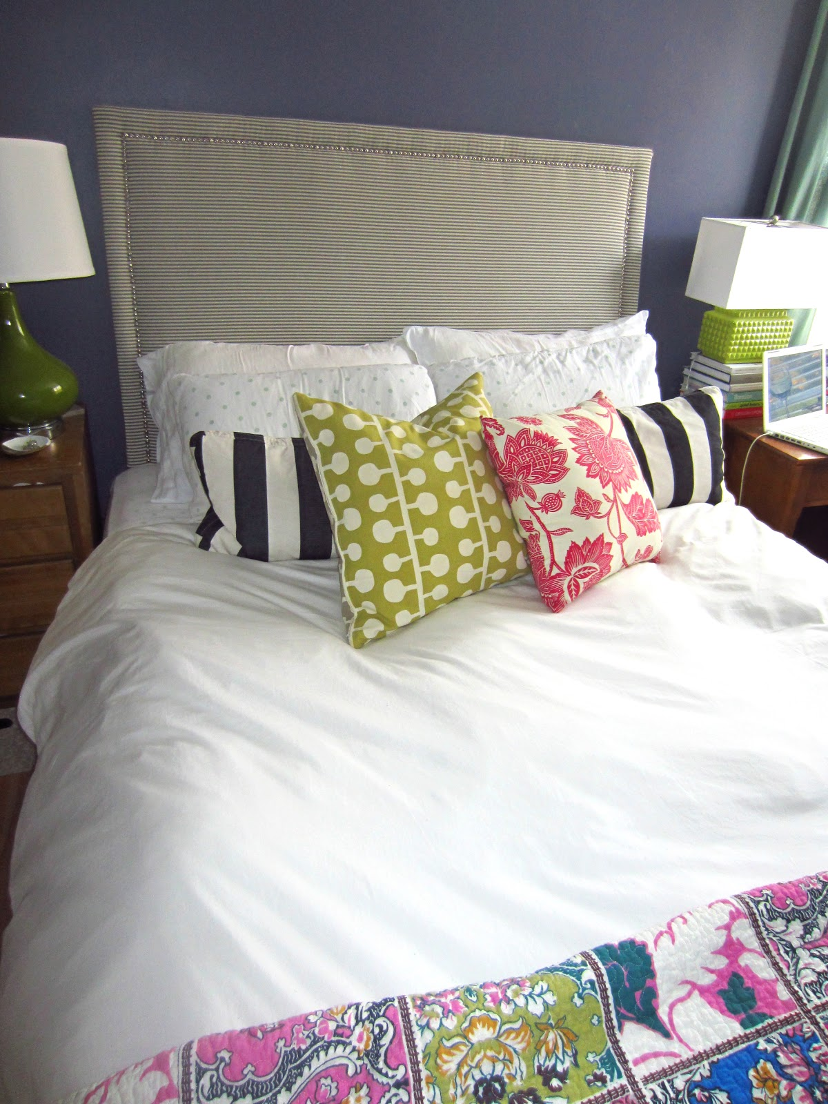 home img makeover hobick to steffens budget friendly bedroom diy make how jenny upholstered headboard