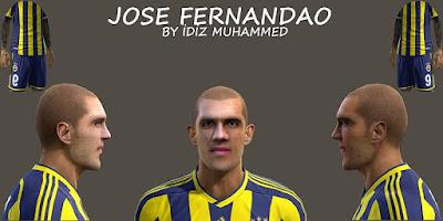 PES 2015 Jose Fernandao Face by Facemaker İdiz Muhammed