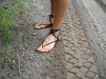 Branca Barefoot Running Sandals