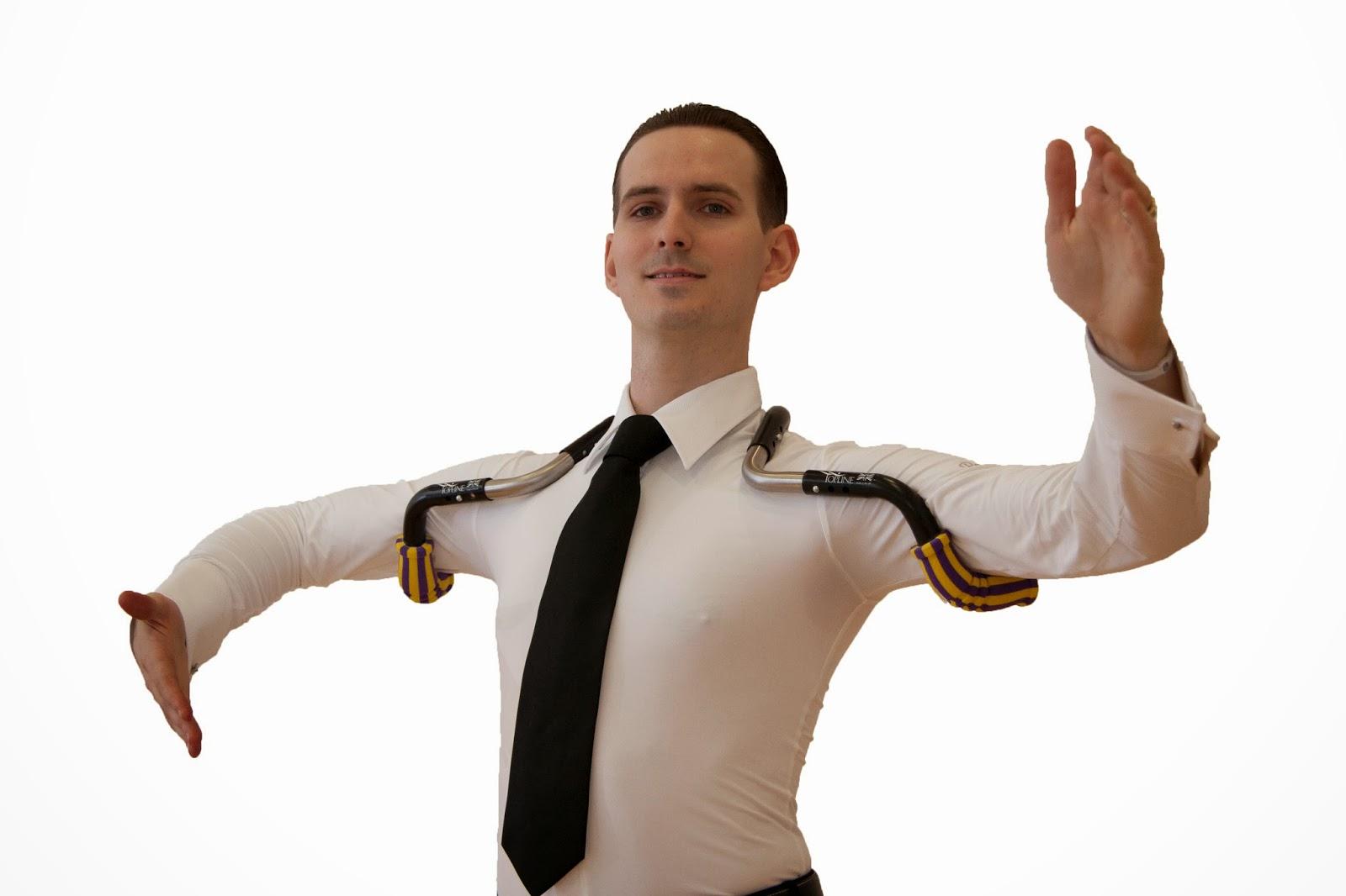DanceSport World: Topline Dance Frame - The Ballroom Dancers Secrets!