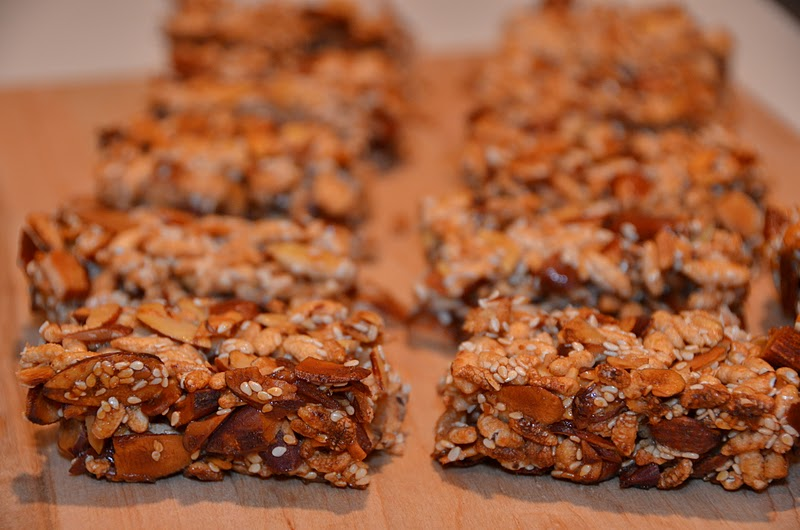 Playing with flour nutty cereal bars so long story short theres a lot of almonds in every bite im ok with that as a person who loves almonds but a little of this goes a long way ccuart Gallery