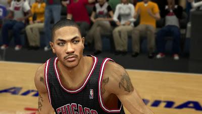 NBA2K14 Derrick Rose Cyberface Patch