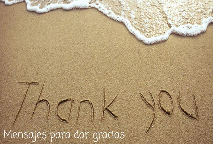 Mensajes para Dar Gracias