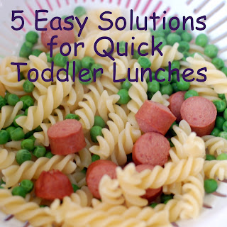 5 Easy Solutions for Quick Toddler Lunches