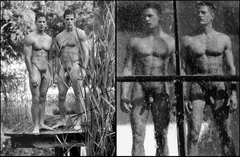 Carlson twin male models nude